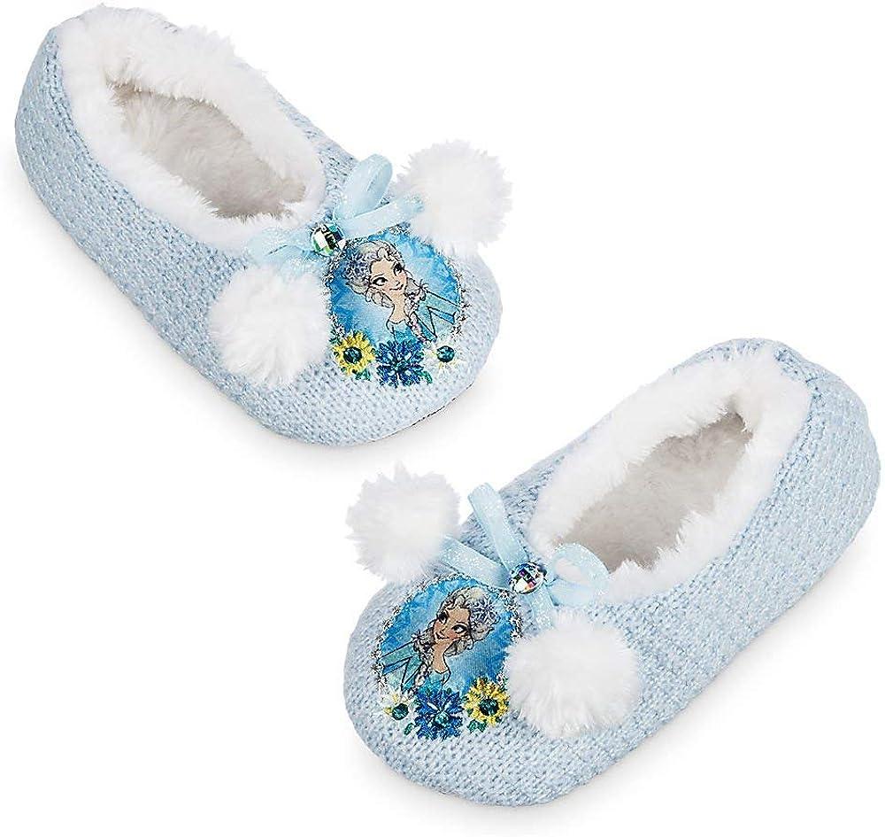 Disney Store Exclusive Frozen Elsa /& Anna Bedroom Slippers All Sizes *LOOK*