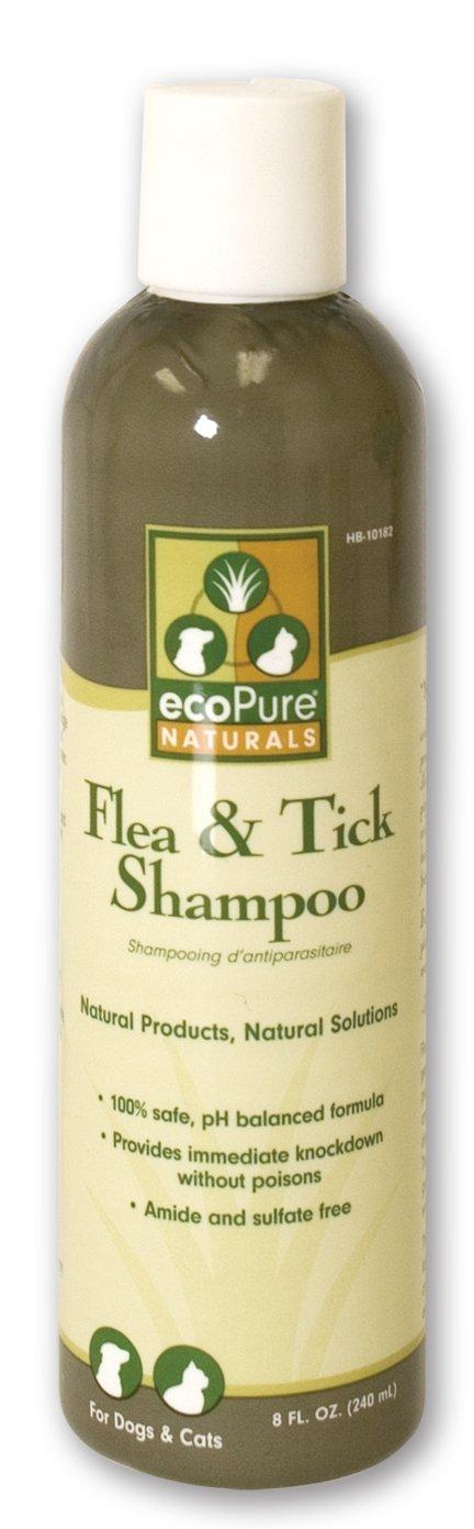 ecoPure 8-Ounce Flea and Tick Shampoo