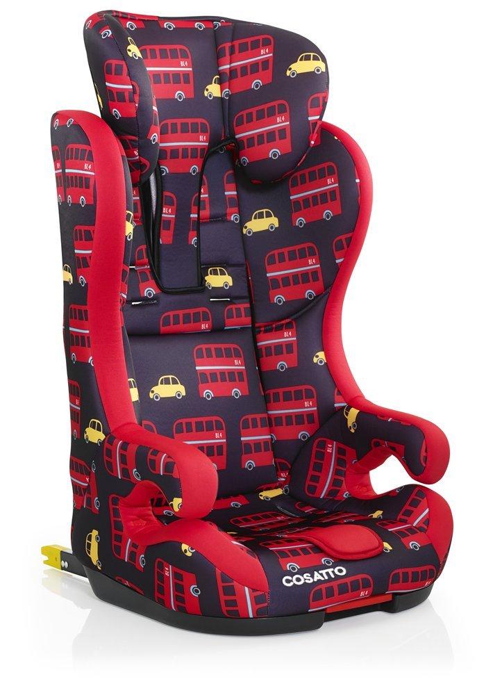 schwarz Auto-kindersitze AnpassungsfäHig Cosatto Isofix Kindersitzbasis