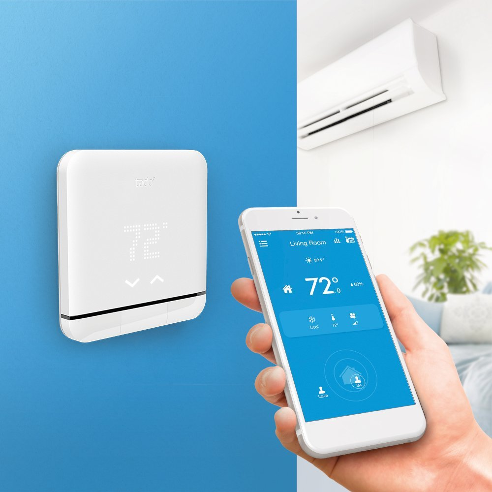 Tado Smart Air Conditioner and Heater Controller, Wi-Fi,  Compatible with iOS and Android, Works with Amazon Alexa by TADO (Image #4)