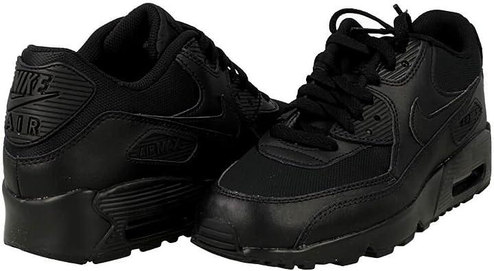 Nike Air Max 90 Mesh GS 833418 001, Sneakers Basses Mixte Enfant