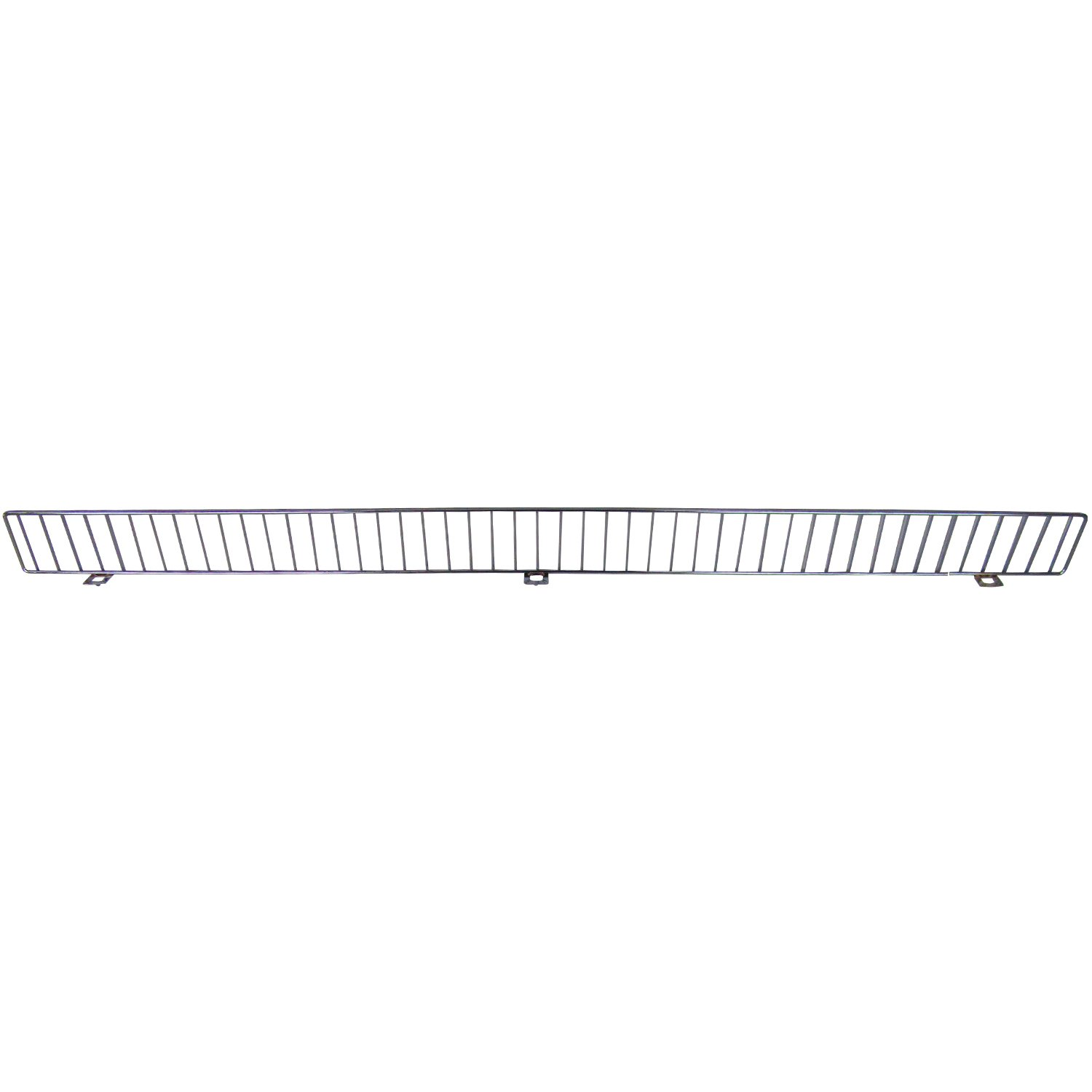 AWP CA-FDF348CN-2 Chrome Front Fence Streater, 3 x 48 Size, Chrome, (Pack of 25)