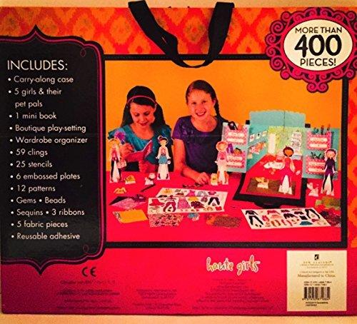Haute Girls Fashion 400 piece paper dolls