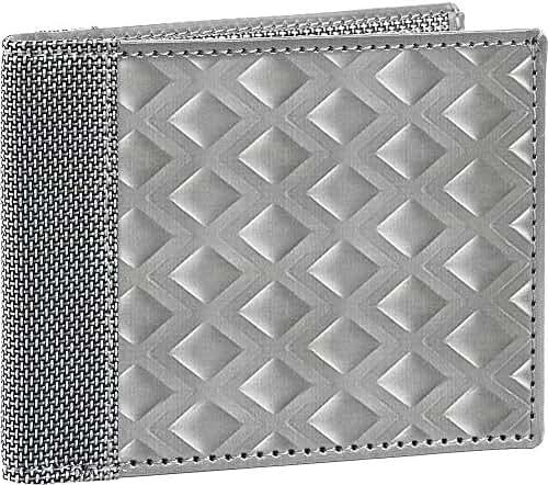 Stewart/Stand Texture Bill Fold Large Diamond Wallet