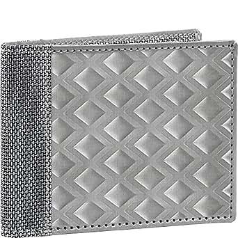 Stewart/Stand RFID Blocking Bill Fold, Large Diamond - Silver