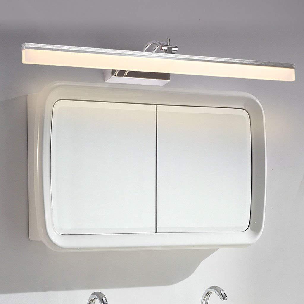 Wall light Führte Spiegel-Kabinett-spezielle Lampen, geführtes Spiegel-Licht, Make-up, Das Edelstahl-Badezimmer-Wand-Lampen-Spiegel-Licht, Wasserdichte Wand-Licht beleuchtet