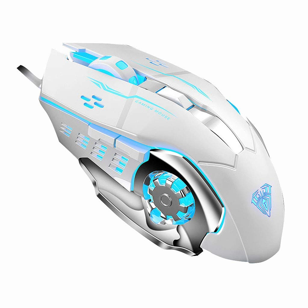 S30 6-Key Gaming Optical Mouse USB Interface Computer Eating Chicken Mouse Mouse