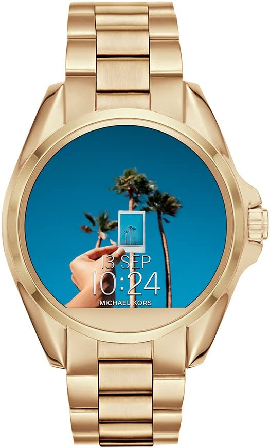 Michael Kors Access, Womens Smartwatch, Bradshaw Gold-Tone Stainless Steel, MKT5001