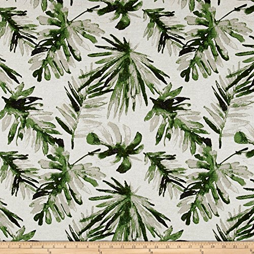 - Premier Prints Frond Flax Basketweave Fabric Lubu