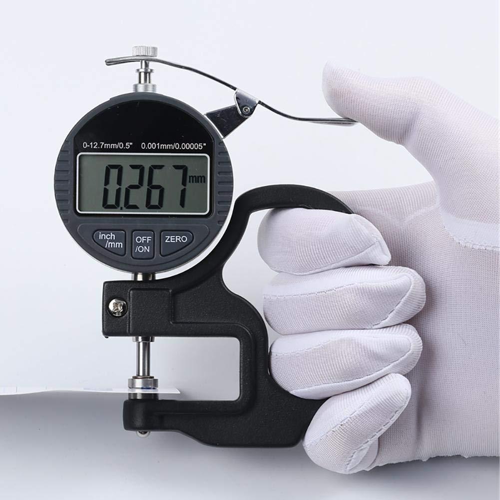 0.001mm Digital F/ühlerlehre Dickenmessger/ät LCD Dickenmesser Digitale Messuhr Digitale Messschieber
