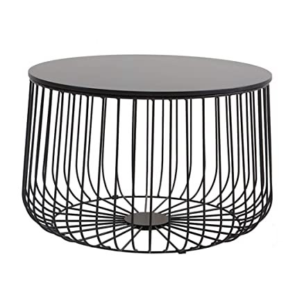 Amazon.com: Caged Side Tables for Living Room| Pre-Assembled ...