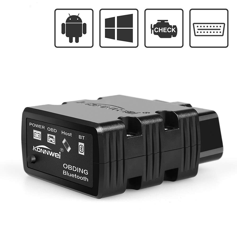 Yeegewin OBD2 Scanner Bluetooth Android Scan Tool Scanner OBD2 OBDII Car Code Reader, Diagnostic OBDII Reader/Scanner for Android Devices