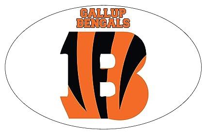 2f3d1e9d Amazon.com : Gallup High School Bengals New Mexico Sports Team 9