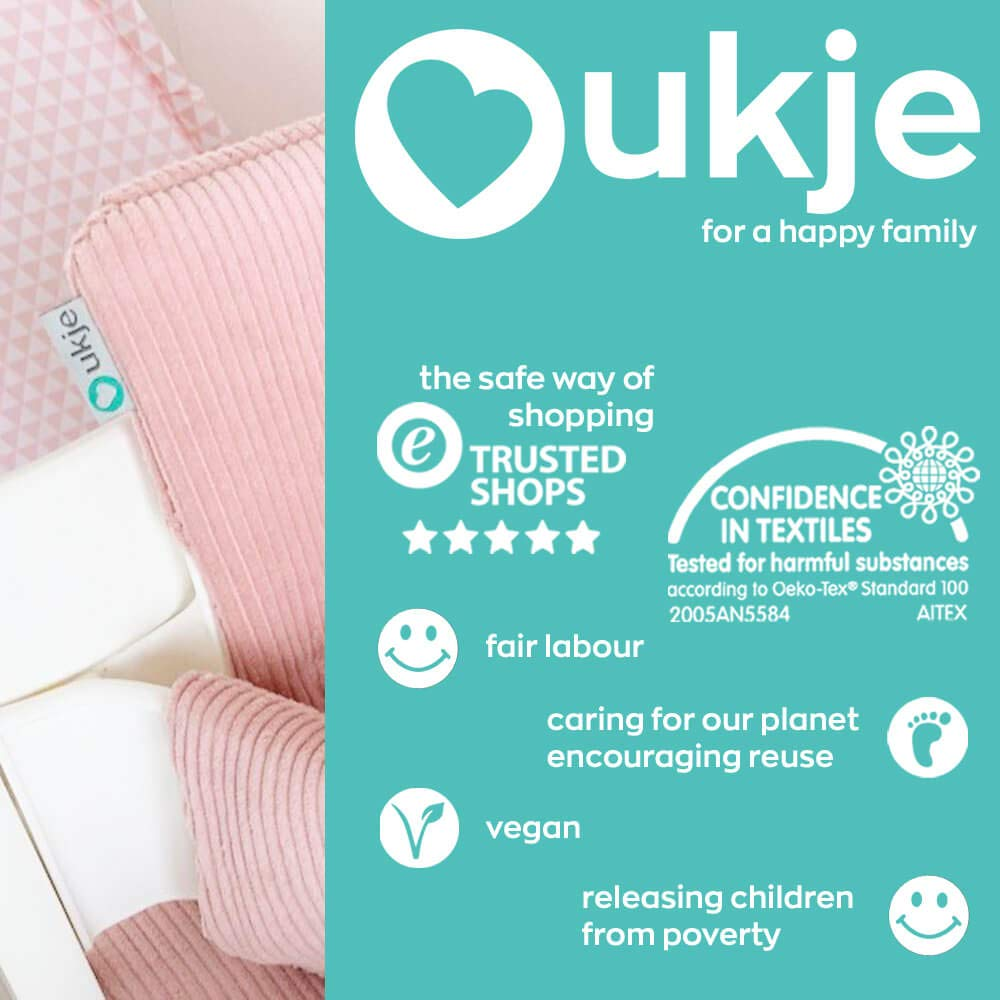 Cushion Stokke Tripp Trapp Set /♥ Mint Corduroy