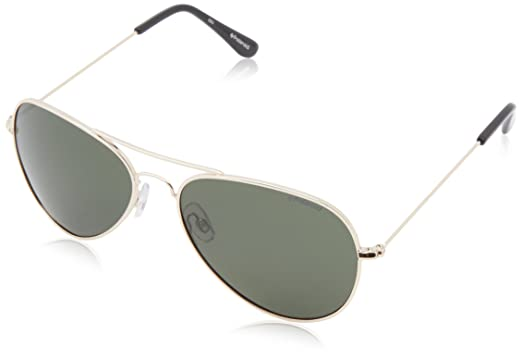 f6b95aed26 Amazon.com  Polaroid 04213s Polarized Aviator Sunglasses