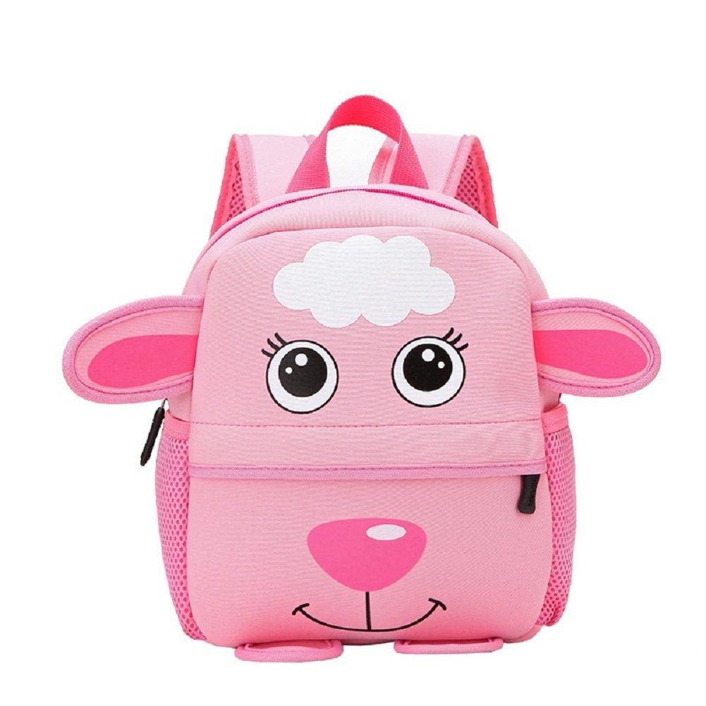 Luerme Kids Backpacks Toddle Boys Girls Preschool Bag Cute Cartoon Animal Children School Bag Rucksack (Sheep)