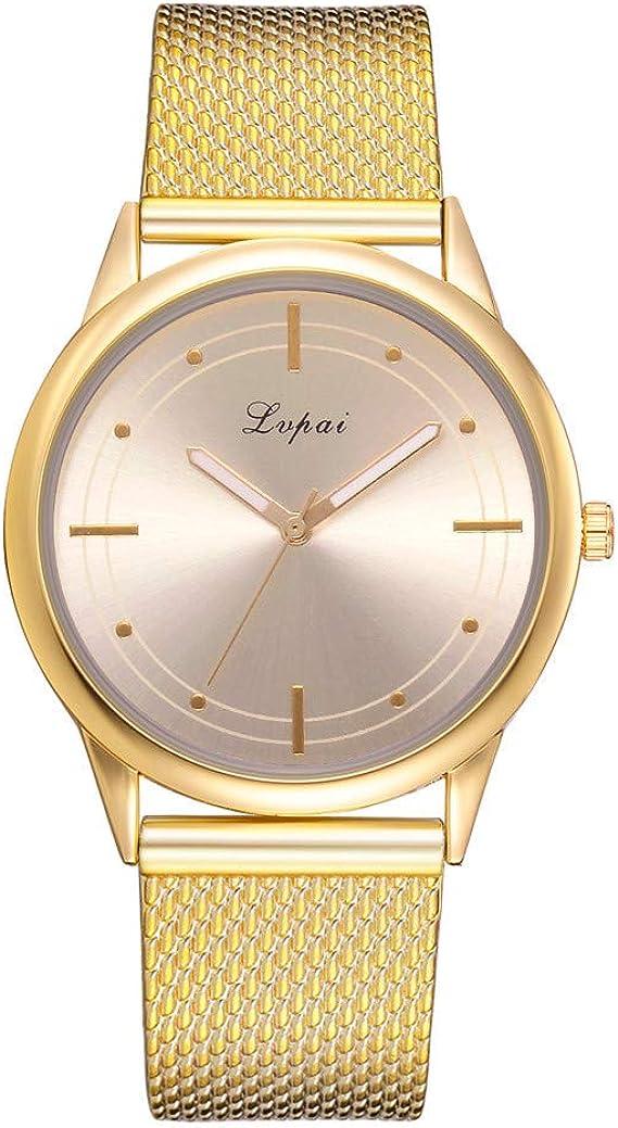 Nueva moda 2019, relojes de pulsera para mujer, reloj de