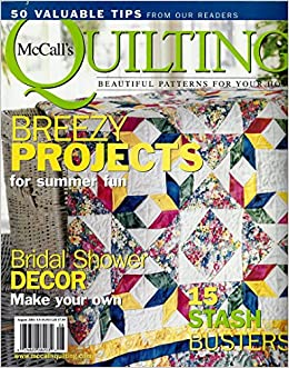 QUICK QUILTS Magazine November 2001 (McCall's Quilting, Quilting ... : quick quilt magazine - Adamdwight.com