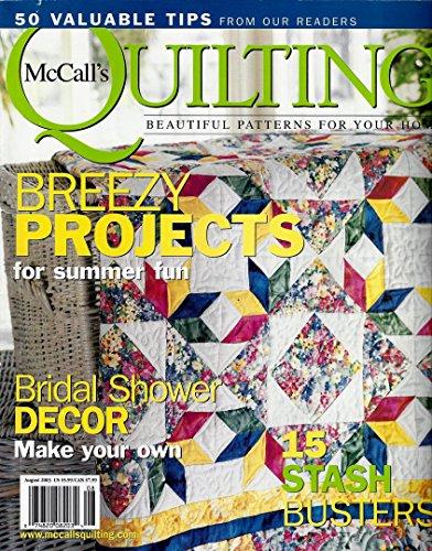 (QUICK QUILTS Magazine November 2001 (McCall's Quilting, Quilting secrets, Fall Patterns, Primitive Fol Art Designs, Make a Denim Dorm Quilt))