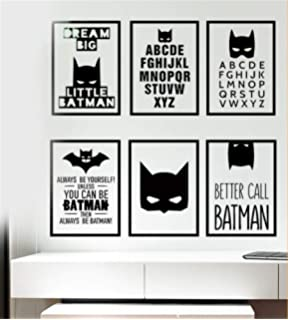 Wandtattoos Traum Grosse Kleine Batman Wandaufkleber Jungen
