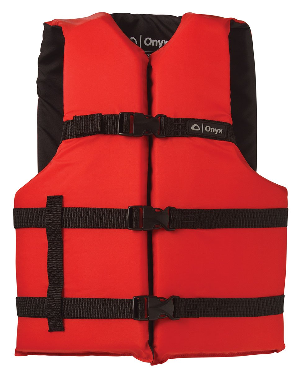 Onyx General Purpose Vests - Adult-Universal, Red/Black