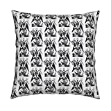 Roostery Sex Organic Sateen Throw Pillow Cover Ceremony by Dawn Hocknell Cover Only