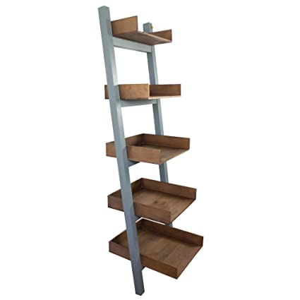 Wondrous Liza Line Premium Wooden Bicolour Wall Ladder Shelf Bookcase Interior Design Ideas Clesiryabchikinfo