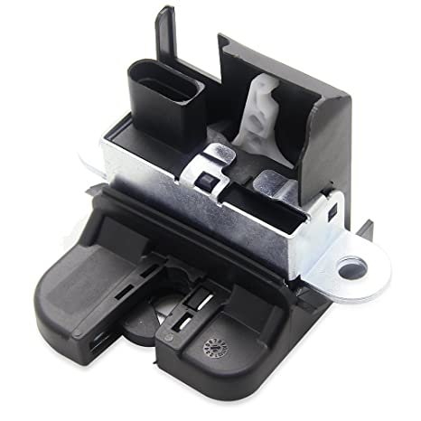 amazon com: new rear trunk boot lid liftgate lock latch for vw volkswagen  tiguan jetta sportwagen # 5m0827505e 5m0827505e9b9: automotive