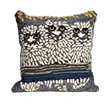 Liora Manne Whimsy Birds Indoor/Outdoor Pillow, Light