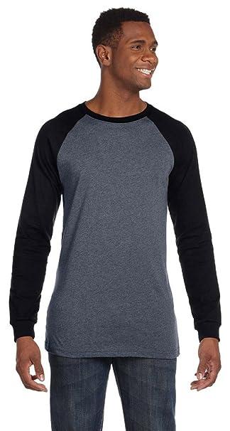220c85e1192 Bella + Canvas Men s Jersey Long-Sleeve Baseball T-Shirt (3000C ...