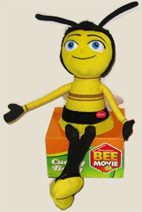 The Bee Movie 15 Plush Buzzing Cuddly Barry Doll Toy Styles May