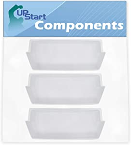 3-Pack 2187172 Refrigerator Door Bin Replacement for Roper RS25AGXNQ00 Refrigerator - Compatible with WP2187172 Deep Shelf - UpStart Components Brand