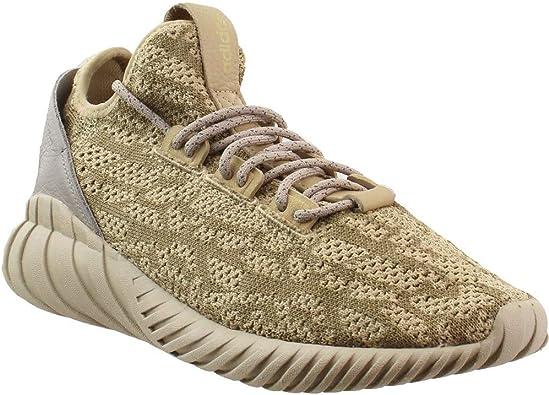 adidas Mens Tubular Doom Sock Lace Up - Brown