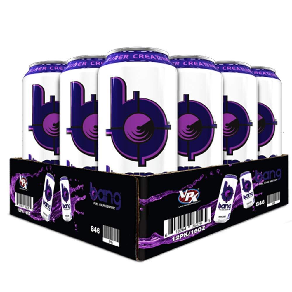 VPX Bang Bangster Berry - 16 Fl. Oz (12 Count) (1 PT) 473 ml