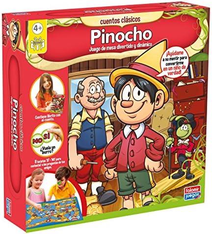 Falomir - Pinocho, Juego de Mesa (25015): Amazon.es: Juguetes y juegos