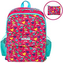 BACKPACK FOR GIRLS: School Bag For Girls. Christmas Gifts/Presents For Girls Age 3 4 5 6 7 8 9 10.