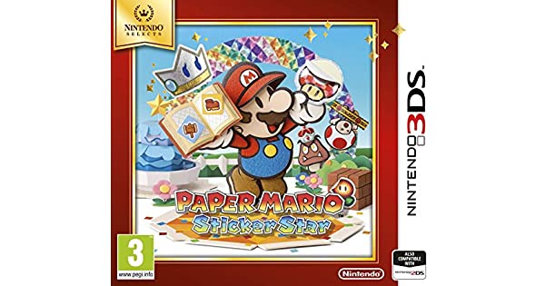 Paper Mario: Sticker Star (Nintendo Selects): Amazon.es: Videojuegos