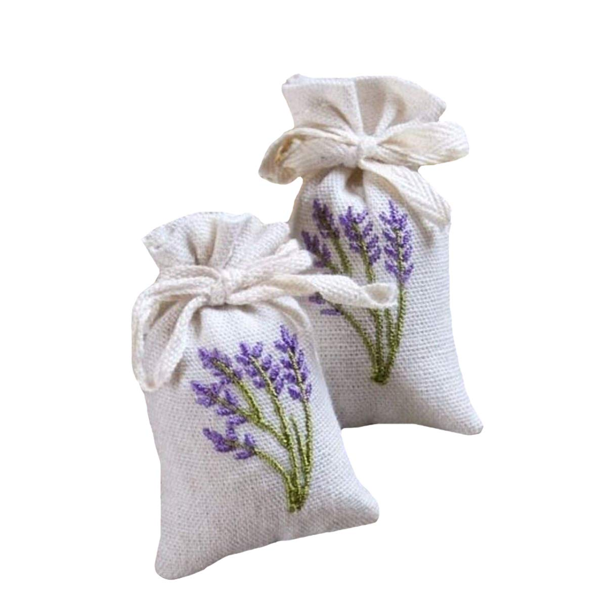 Mini Portable Handmade Aromatherapy Decorated Scented Sachet For Closet/Car/Drawer (50, Lavender)