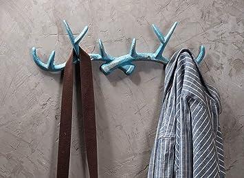 Sunshier Casa Gancho de Pared Vintage Toalla Abrigo Perchero Titular Baño Cocina Azul: Amazon.es: Hogar