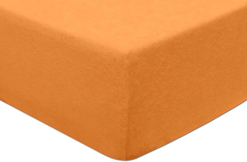 Pour des hauteur de matelas jusqu/à 5/cm Drap housse /éponge 80/x 160/ Couleur au choix  fuchsia /Élastique