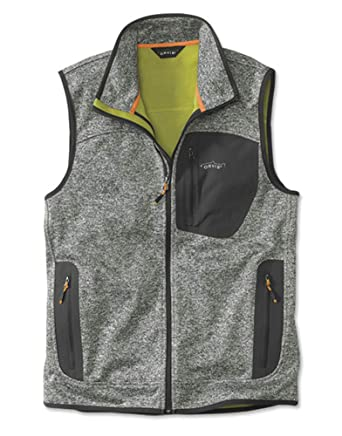 1b369df787b4d9 Orvis Men s Windproof Sweater Fleece Vest at Amazon Men s Clothing store