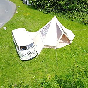 Glawning 5m Special Edition Fireproof CloudGazer Bell tent Awning