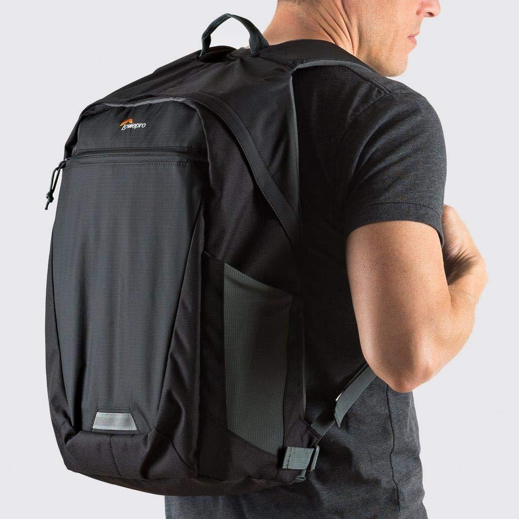 Black//Grey Lowepro BP 250 AW II Photo Hatchback Bag for Camera