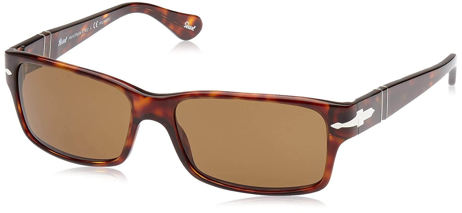 fddfc652b9 Amazon.com  Persol Sunglasses - PO2803   Frame  Havana Lens  Crystal Brown  Polarized (58mm)  Persol  Shoes