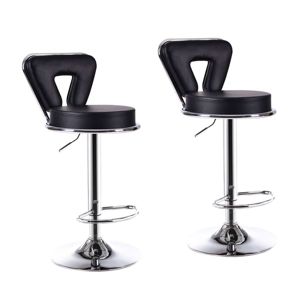 XUEPING バースツール/チェア カウンターチェア 回転する リフト 事務用椅子 キッチン レストランバーベンチ/チェア 高めの椅子 9色 (色 : F f, サイズ さいず : 二) B07CWL5J2K 二|F f F f 二