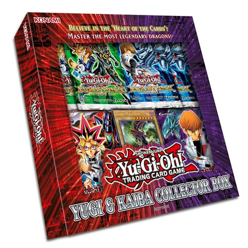 Yu-Gi-Oh! KONYGCB Yugi and Kaiba Collectors Box English Language