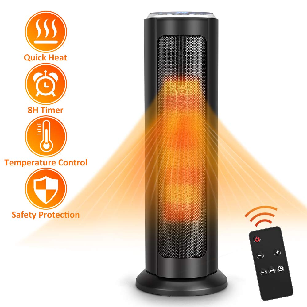 Air Choice Tower Ceramic Heater