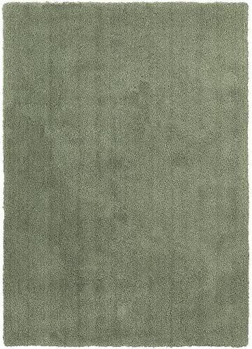 Surya Heaven HEA-8007 Shag Hand Woven 100 Polyester Malachite Green 9' x 13' Area Rug
