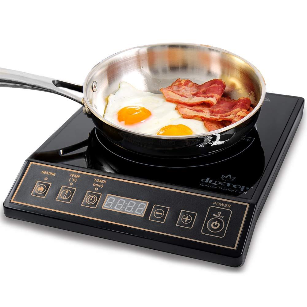 Secura 9120MC 1800W Portable Induction Cooktop Stove Countertop Burner Range, Gold