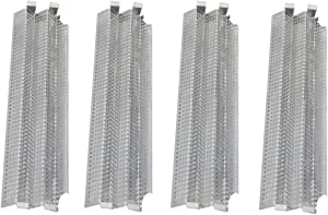 Htanch SN4081(4-Pack) Stainless Steel Heat Plate Replacement for Viking VGBQ 30 in T Series, VGBQ 41 in T Series, VGBQ 53 in T Series, VGBQ30, VGBQ41, VGBQ53